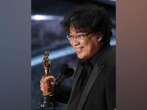 Parasite's director 'Bong Joon-ho' at 92nd Academy Awards