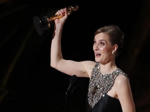 Hildur Gudnadottir winning the Oscar for Best Original Score