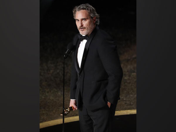 Joaquin Phoenix at the 92nd Academy Awards