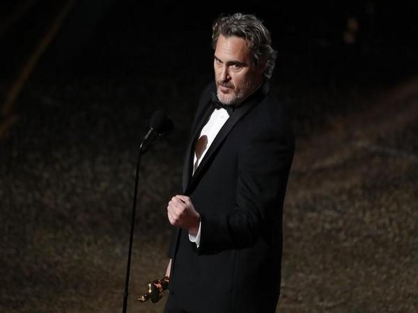 Joaquin Phoenix at the 92nd Academy Awards