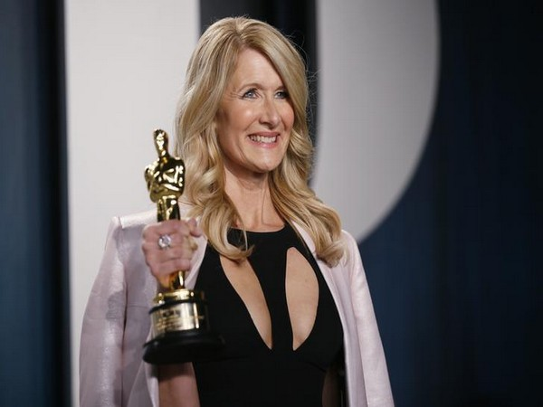 Laura Dern at the Vanity Fair Oscar party in Beverly Hills.