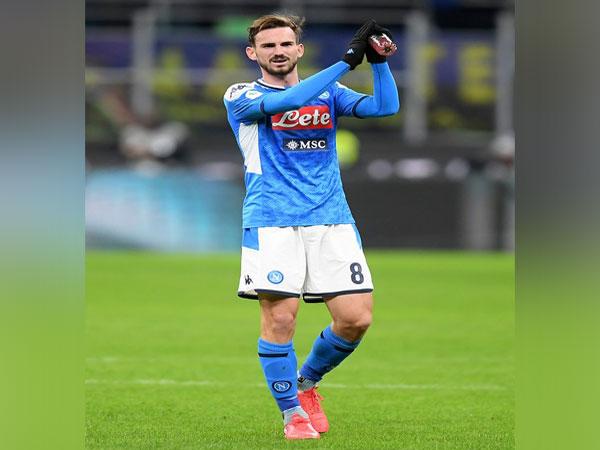 Napoli midfielder Fabian Ruiz