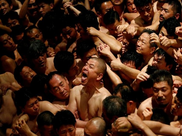 A photo from Japan's Naked Festival