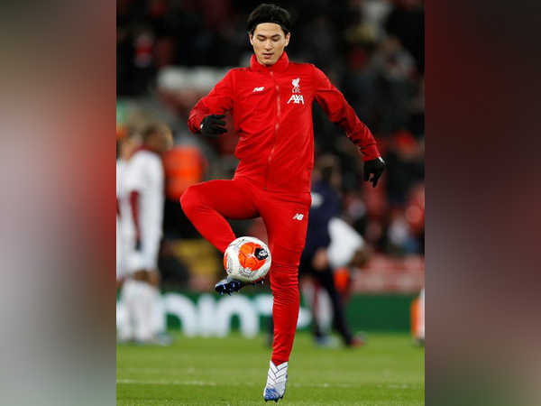 Liverpool's Takumi Minamino