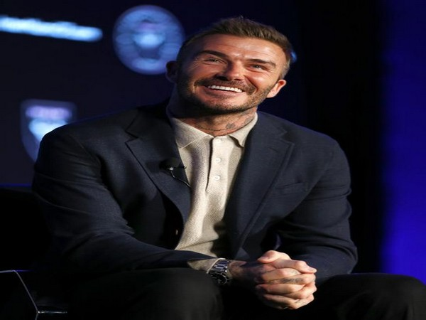Former footballer David Beckham (File photo)