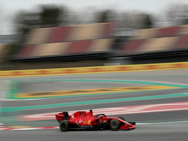 Ferrari's Charles Leclerc in action