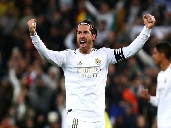 Real Madrid defender Sergio Ramos.