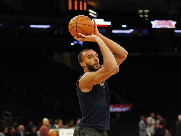 Basketball player Rudy Gobert
