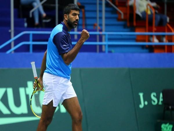 India's Rohan Bopanna (file photo)