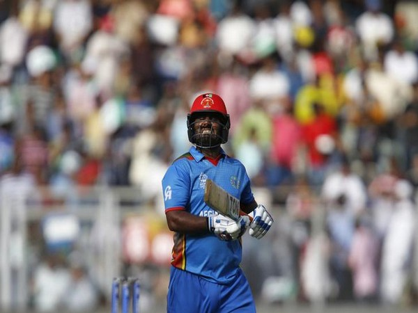 Afghanistan player Mohammad Shahzad