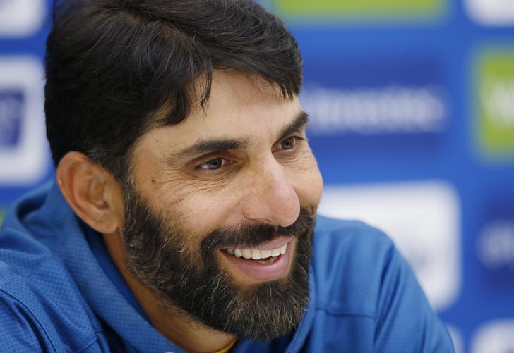 Former Pakistan skipper Misbah-ul-Haq