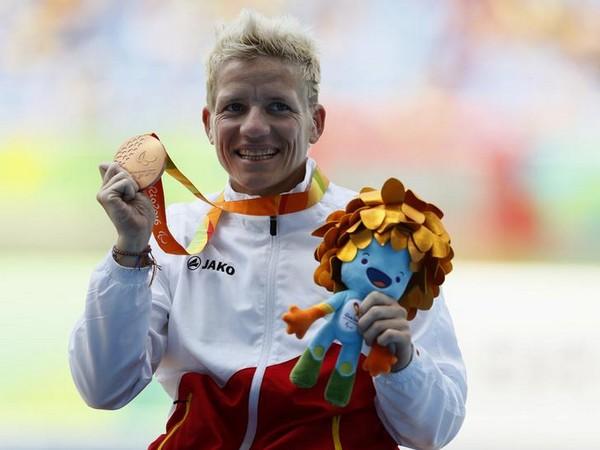 Belgium's paralympian Marieke Vervoort