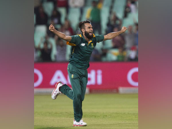 South Africa's leg-spinner Imraan Tahir