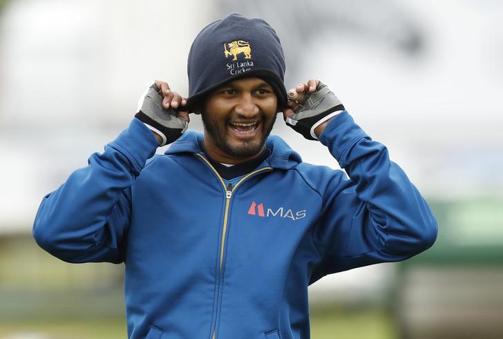 Sri Lanka's cricketer Dimuth Karunaratne