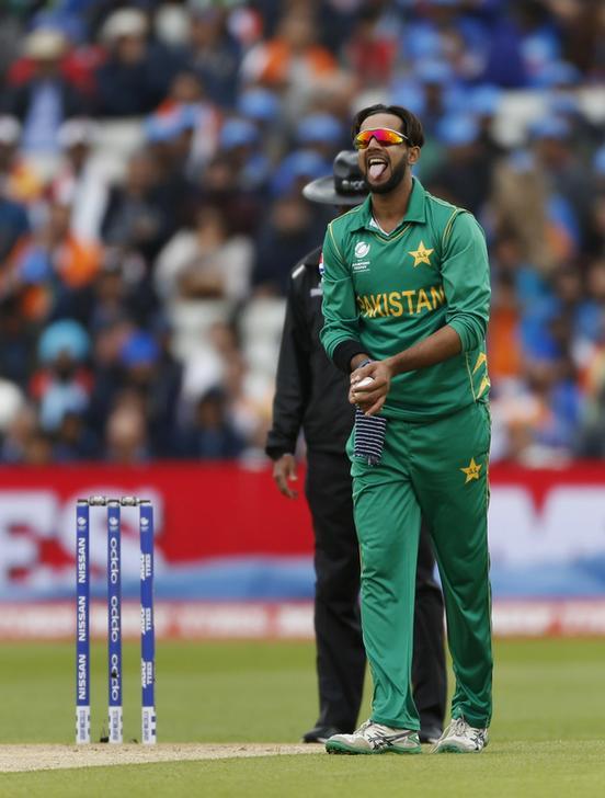 Pakistan left-arm spinner Imad Wasim