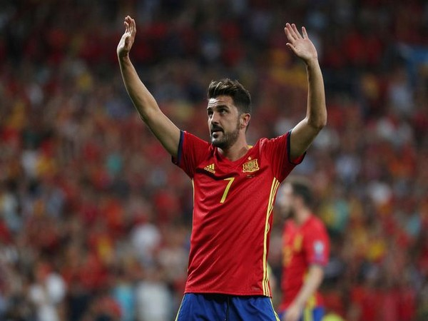 Former Spain forward David Villa