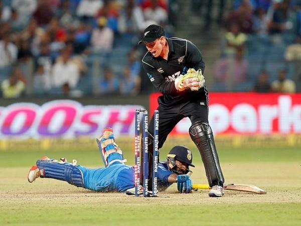 New Zealand wicket-keeper Tom Latham
