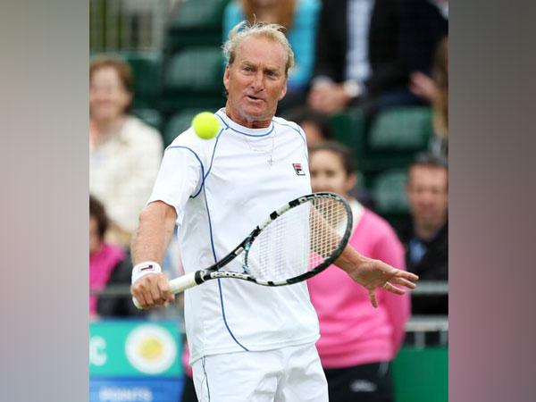 Former Australian tennis player Peter McNamara