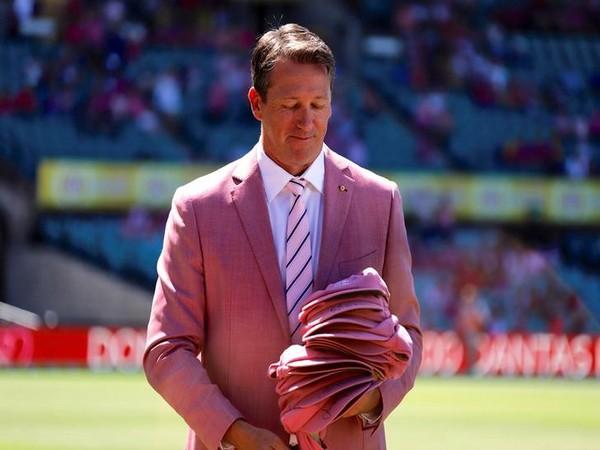 Former Australia pacer Glenn Mcgrath