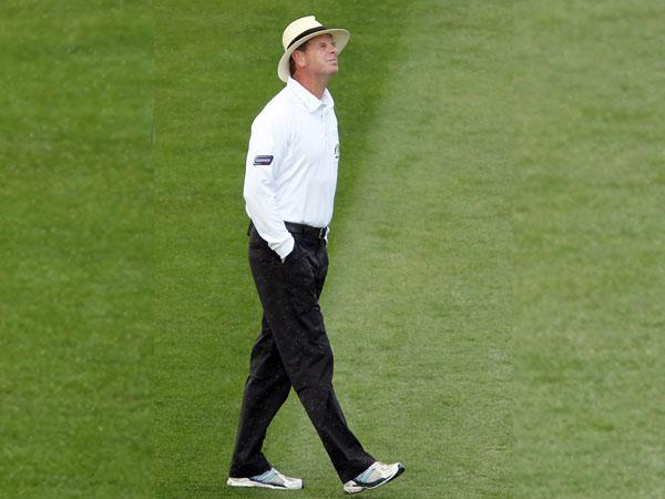 Australia umpire Paul Reiffel