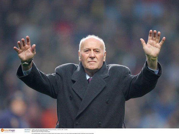 Aston Villa's former manager Ron Saunders
