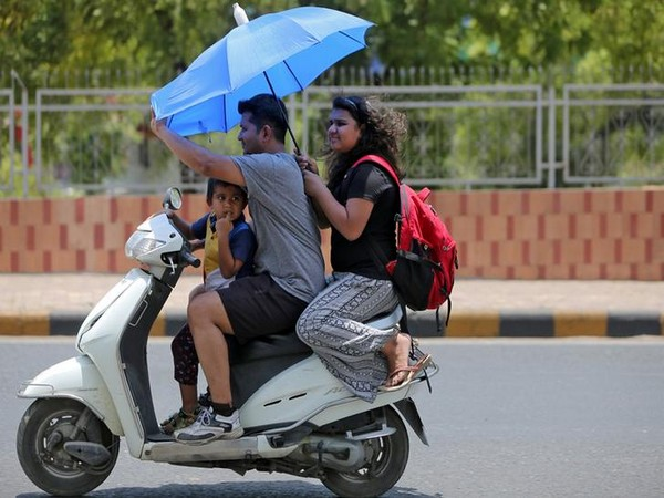"""""""Adilabad and Medak districts in the state reported the highest temperature where the mercury touched 43.8 degree Celsius."""