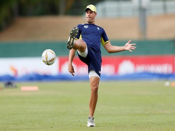 South Africa's batsman Aiden Markram
