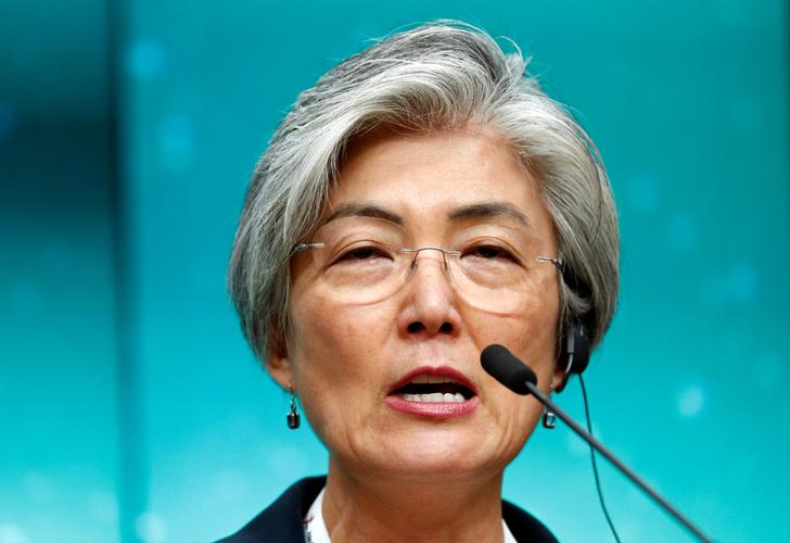 South Korean Foreign Minister Kang Kyung-wha (File Photo)