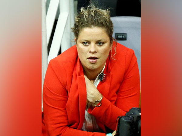 Belgian tennis player Kim Clijsters
