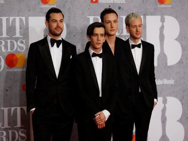 Pop band The 1975