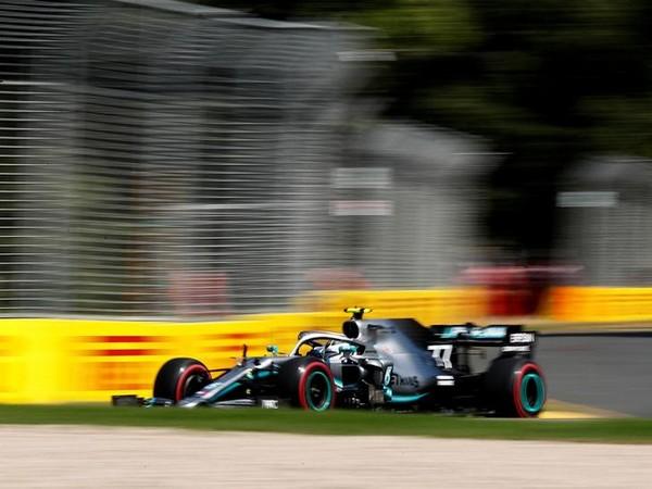 Mercedes' Valtteri Bottas in action at Melbourne Grand Prix Circuit