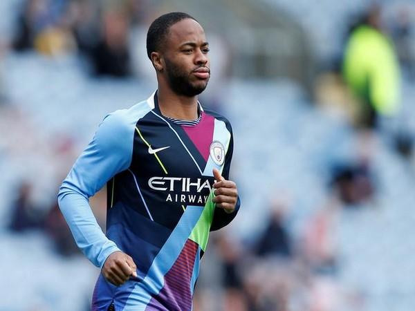 England midfielder Raheem Sterling