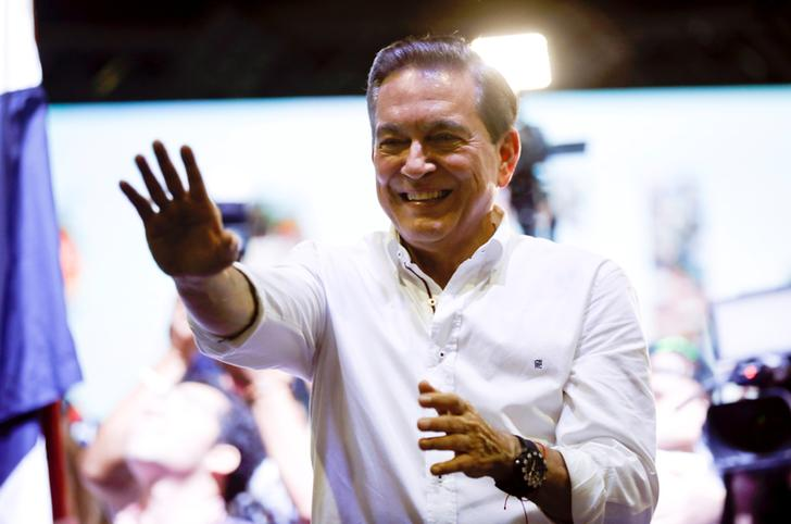 Laurentino Cortizo after Panama's electoral tribunal declared him as the winner of Sunday's election (Photo: Reuters)