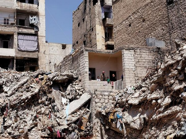 Damaged residential buildings in Idlib province in northwestern Syria. (File photo)