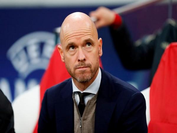 Ajax AFC manager Erik ten Hag