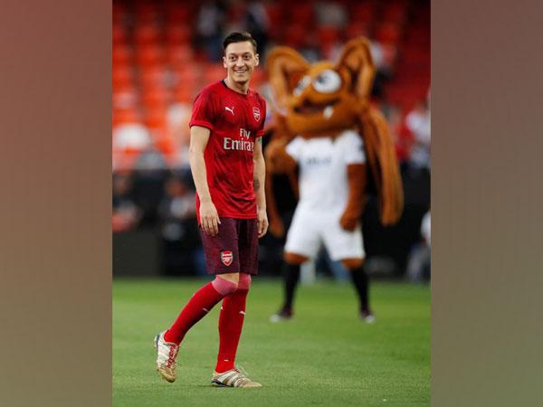 Arsenal's Mesu Ozil