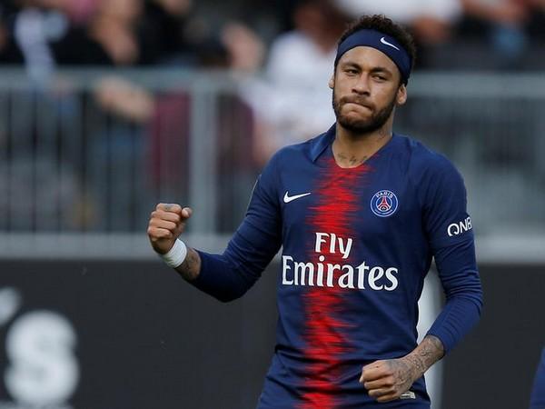 Paris Saint-Germain player Neymar