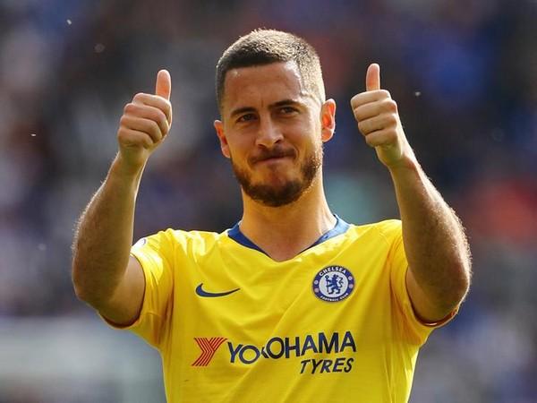 Chelsea player Eden Hazard
