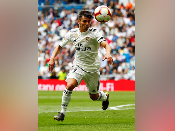 Real Madrid's Brahim Diaz