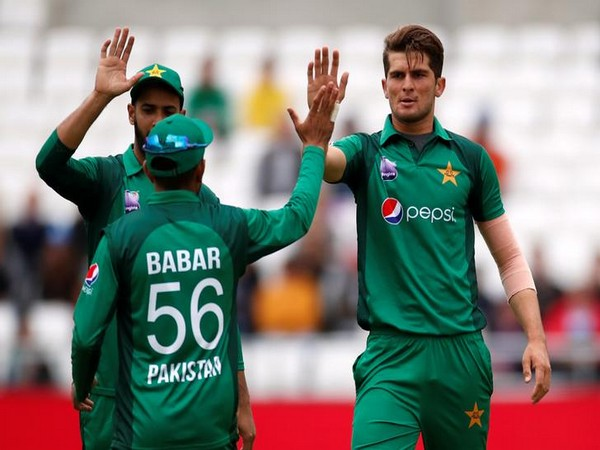 Image result for Shaheen Shah with Babar Azam