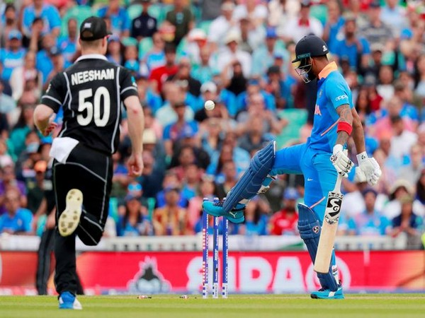 India and New Zealand in action