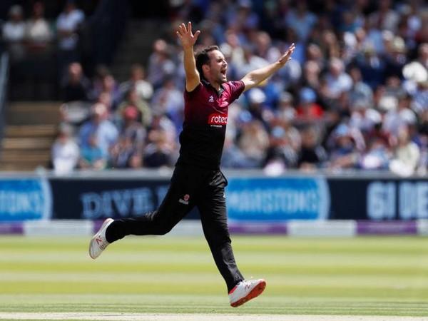 Somerset bowlerLewis Gregory