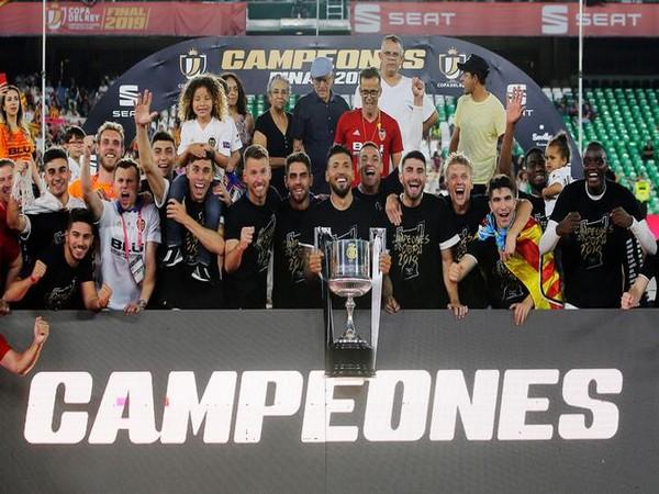 Valencia lift Copa del Rey title here on Sunday.