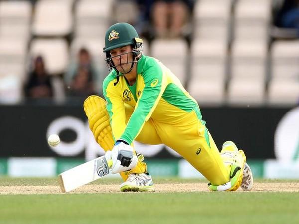 Australia player Alex Carey
