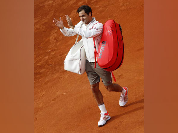 Swiss tennis player Roger Federer during his third round match in French Open