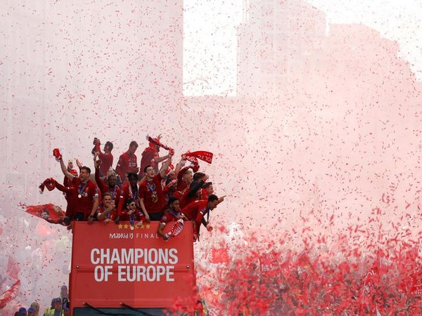 Liverpool victory parade after becoming the Champions League champions