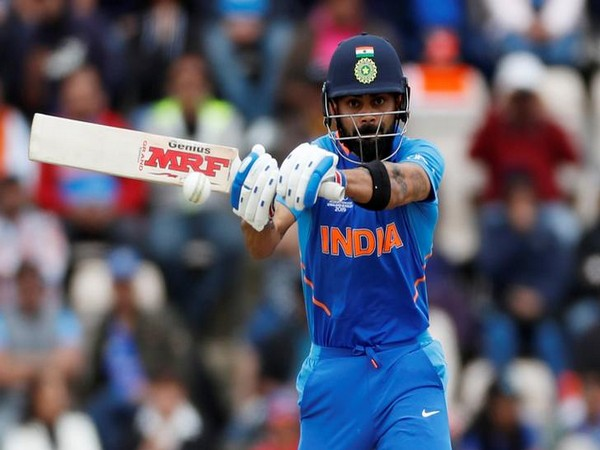 Indian skipper Virat Kohli in action against South Africa