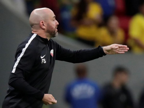 Qatar coach Felix Sanchez
