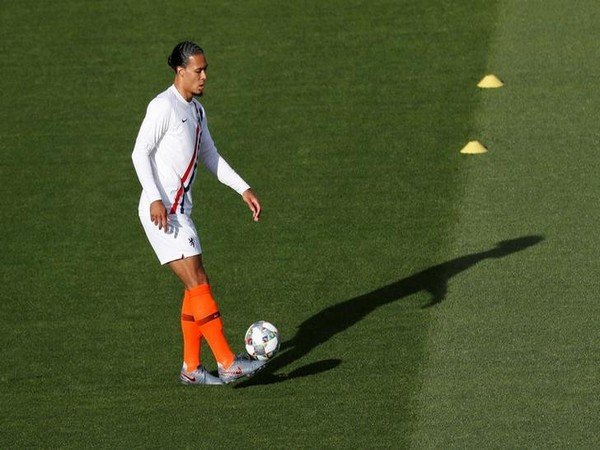 Liverpool player Virgil van Dijk