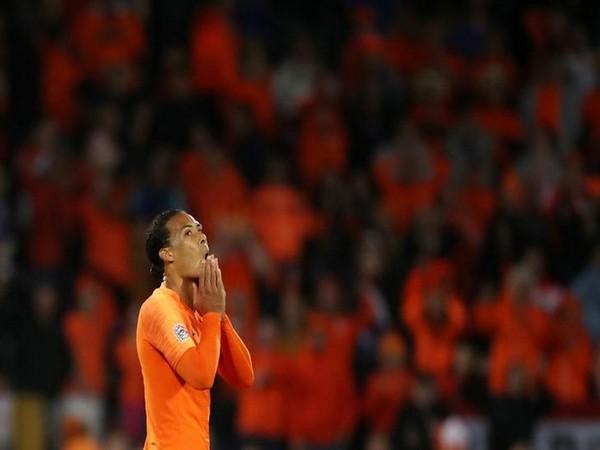 Netherlands player Virgil van Dijk